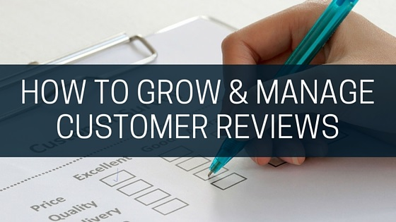 How To Grow & Manage Customer Reviews - BMT Micro