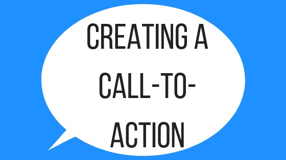 Creating a Call-To-Action